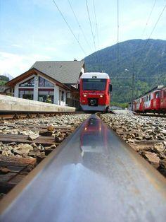 Bahnhof Orsières - Saint-Bernard Express (Switzerland, Valais, Orsières)