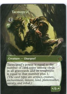 Tarmogoyf. Sold!