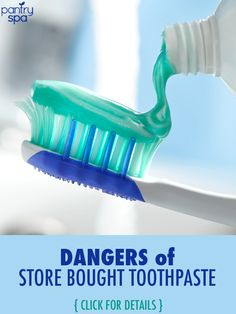 While you may believe store bought toothpaste can be a good preventative way to keep bacteria off your tooth, some of the ingredients are a bit suspicious.