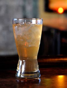 Minny's Mississippi Punch  INGREDIENTS  1 ½ oz. rum  1 oz. rye whiskey  1 oz. apple brandy  ½ fresh lemon juice  ½ tsp. granulated sugar  2 dashes orange bitters    INSTRUCTIONS  Combine all ingredients with ice in a cocktail shaker. Shake well and strain the mixture into a pilsner glass filled with fresh ice.