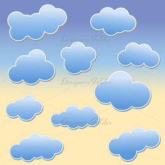 Clouds Vectors
