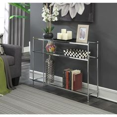 Convenience Concepts Royal Crest Console Table
