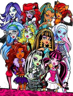 Monster High <3 and yes this is tali again (the daughter) im on pinterest in my moms id