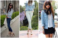 White jeans & denim