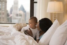 5 Ways to Make Baby's Bedtime Easier on Vacation via Brit + Co