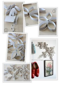 I could make these into paper snowflakes. IDA InteriorLifeStyle
