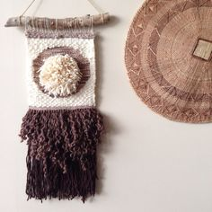 Handwoven Wall Hanging  Shag by WarpedThreadss on Etsy, $180.00