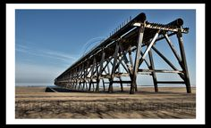 Urban Art Derelict Pier Photography