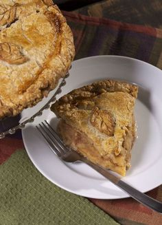 No-sugar-added apple pie