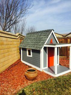 Custom playhouse!  Made by me!