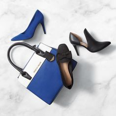 For all the dancing and prancing you'll be doing this season. New Years Eve looks. Christian Siriano for Payless. Elite Clothing, Dress And Heels, Dress Shoes, On Shoes, Shoes Heels, New Year's Eve Looks, Blue Heels, Christian Siriano, Holiday Dresses