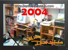 Ruang Kerja Pribadi Daniel Antonius Tahun 2004