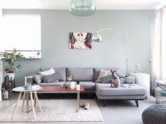 Shop the look: het trendy interieur van jaimyinterieur - Home Dekor Nordic Living Room, Living Room Paint, Living Room Colors, Living Room Modern, Living Room Interior, Home And Living, Living Room Designs, Living Room Decor, Lounge Design