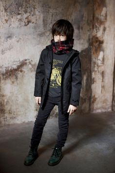 Finger in the nose winter 2012- kindermode kids fashion -