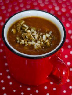 paprikakrémleves2 Chana Masala, Ethnic Recipes, Soups, Gourmet, Soup