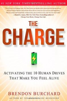 The Charge: Activating the 10 Human Drives That Make You Feel Alive by Brendon Burchard, http://www.amazon.com/gp/product/1451667531/ref=cm_sw_r_pi_alp_pixTpb0XQAMAT