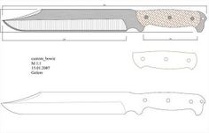 Чертежи ножей для изготовления: часть 3 | LastDay Club image 11