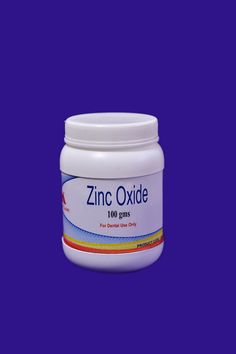 """#Zinc #Oxide #Powder ✓ 99.99% Pure.  ✓ Properties & Advantages Shiva Products  ➫Arsenic free, pure zinc oxide powder for temporary dental dressing. ➫Used for restorative and prosthodontic applications. ➫For best result use with """" MAARC """" Eugenol."""