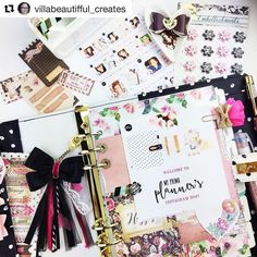 #Repost @villabeautifful_creates ・・・ Hi Everyone! Happy Friday! This week @myprimaplanner launched their new line of planners and accessories. I'm so excited to be joining the @myprimaplanner design team. Can't wait to get back into creating some inspirational planner layouts in a ring bound system. Today we're doing an Instagram Hop to get to know the rest of the team. Take a look at the directions below for a chance to win a prize from their fabulous new planner collection.  **** We...