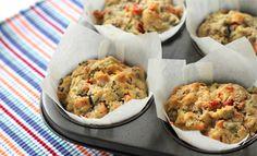Easy savoury muffins