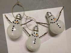 Kelsey Bang: Snowman Ornament Tutorial