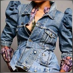 Slay, Style Me, Denim, Jackets, Tops, Fashion, Down Jackets, Moda, Fashion Styles