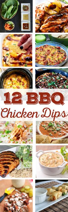 12 BBQ Chicken Dip Recipes