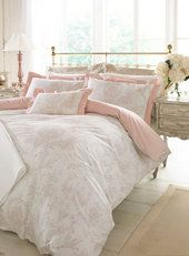 Holly Willoughby Geneva bedding - Bedding sets & sheets - Home, Lighting & Furniture - BHS Linen Bedding, Bedding Sets, Duvet, Bed Linen, Master Bedroom, Bedroom Decor, Bedroom Ideas, Bedroom Inspo, Organization Xiii