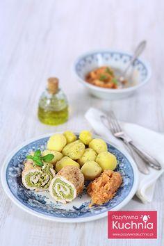 Roladki z kurczaka z bobem - #przepis na prosty i elegancki #obiad  http://pozytywnakuchnia.pl/roladki-z-kurczaka-z-bobem/  #kurczak #bob #kuchnia