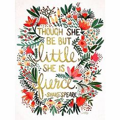 Love this quote, suits my baby daughter perfectly!! Such a little fighter ❤️