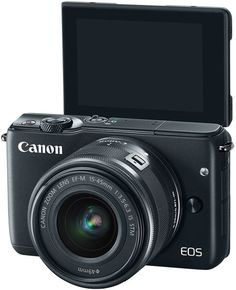Canon: New, Compact EOS M10 Mirrorless: Features Include Self Portrait Mode for…