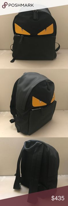fendi monster buggies backpack guaranteed authentic, in great condition. I ship immediately. Fendi Bags Backpacks