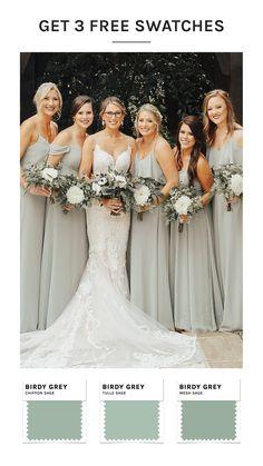 Forest Green Bridesmaid Dresses, Beach Bridesmaid Dresses, Wedding Dresses, Mix Match Bridesmaids, Wedding Bridesmaids, Dream Wedding, Wedding Day, Wedding Planning Inspiration, Hadley
