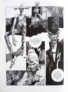Sergio Toppi is an Italian illustrator known mostly for his beautifully created comics. While he sometimes works in color (such as in ...