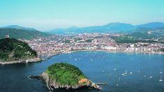 País basco. Donostia, txakolie bombas