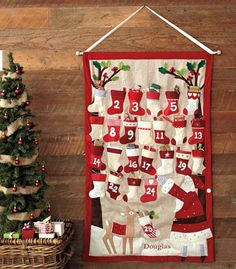 Advent calendar--ways to fill it and to count down to Christmas--wonderful ideas!