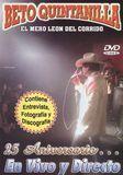 25 Aniversario... En Vivo y Directo [DVD], 8004