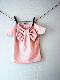 bow shirt - A girl and a glue gun