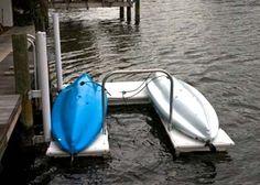 AccuDock Floating Dock- 8 x 12 Kayak Slip Dock Package