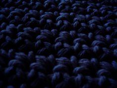 Navy Blue Bedroom Rug  Dark Blue Cotton Rug  by WriteBackSoon, $50.00