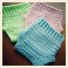 Crochet Baby Diaper Covers by MadebyMTL on Etsy, $12.00