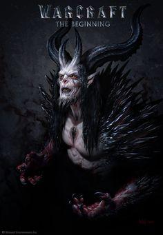 ArtStation - The Art of Warcraft Film - Medivh, Wei Wang