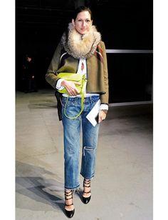 os Achados   Moda   Musa de Estilo Jenna Lyons