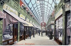 City Arcade, Birmingham Posted May 1907
