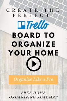 Learn to use Trello. In this Trello tutorial I'll show you how to organize your home using this task managament app. Time Management Tips, Business Management, Business Planning, Focus At Work, Focus On Your Goals, Calendar Organization, Home Organization, When Your Heart Hurts, Business Process Mapping