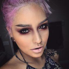 Rusted eyes ❤️ Lovesick & Amelie shadows  #meltsext lipstick @meltcosmetics  @ardell_lashes #113 Ardell Lashes 113, Amelie, Makeup 2016, Beauty Makeup, Hair Beauty, Melt Cosmetics, Dramatic Makeup, Gorgeous Body, Black Eyeliner