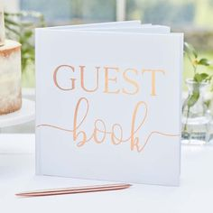 Rose Gold Wedding Guest Book Sign, Wedding Guestbook Sign, Rustic Wedding Decor, Baby Shower Guest Book, Birthday Guest Book Blank Pages Wedding Post Box, Card Box Wedding, Wedding Book, Jenga Wedding, Puzzle Wedding, Wedding Messages, Wedding Table, Wooden Wedding Guest Book, Guest Book Sign