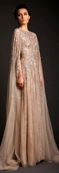 Evening Dresses: Krikor Jabotian Akhtamar Collection Spring/Summer 2014