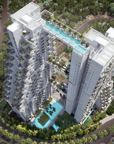 Sky Habitat swimmable bridge in Singapore! Afraid of heights? ♥This one will be complete just in time for your summer holidays – in 2016. A 38-story high swimmable bridge will connect two luxury apartment blocks in the suburb of Bishan.