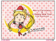Have a very Merry Sailor Moon Crystal Christmas :D